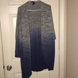 Sweater (open style-no buttons)